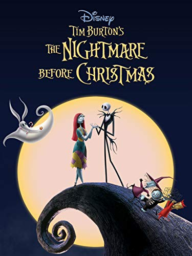 Tim Burton's The Nightmare Before Christmas (Best Movie Christmas For Toddlers)