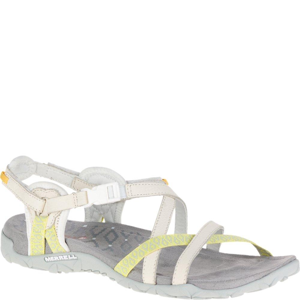 Merrell Women's Terran Lattice II Sandal, White, 10 M US
