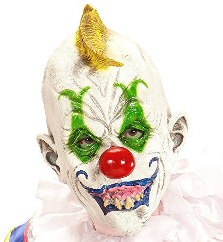 Clown 3/4 Mask - Goofy Clown 3/4 Mask