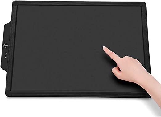 Electronic drawing board LCD Tablet 20 inch Portable Intelligent Childrens Tablet Childrens Graffiti Board Early Education Painting Tablet Black