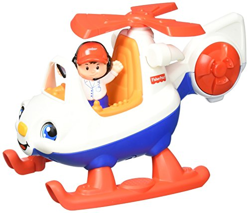 Fisher-Price Little People Helicopter (Little People Dump Truck)