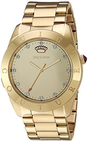 Juicy Couture 1901500 22mm Couture Connect Gold Plated Stainless Steel Gold Watch Bracelet