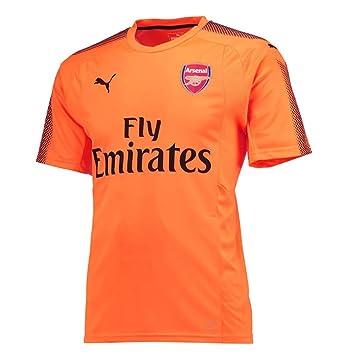 397a678a6 Puma 2017-2018 Arsenal Away SS Goalkeeper Football Soccer T-Shirt ...