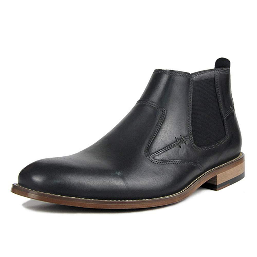 cf33b8735ecd Amazon.com: KTYXGKL Martin Boots Men's Autumn and Winter Plus Velvet ...