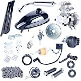 YaeCCC Bicycle Motor Kit 80cc 2-Stroke Motor Engine Mountain Bike Upgrade Kit Gas