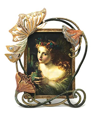 Jay Strongwater Art Nouveau Butterfly Photo Frame - 5