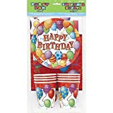 Birthday Balloons Party Pack for 8 Guests by Unique Party