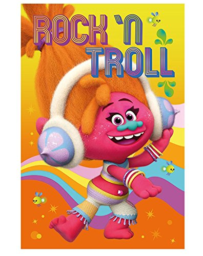 Dreamworks Trolls DJ Suki Movie Poster