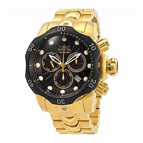 Invicta Men's 'Venom' Quartz Stainless Steel Casual Watch, Color:Gold-Toned (Model: 23892) -  ADULT