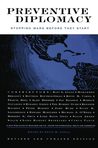 Preventive Diplomacy: Stopping Wars Before They Start