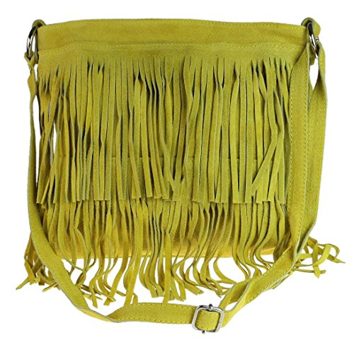 Bandolera Handbags Girly Mujer Bolso Daniela mostaza Sp07wZq7
