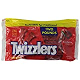 TWIZZLERS Twists (Strawberry, 2-Pound Pouches, Pack of 6)