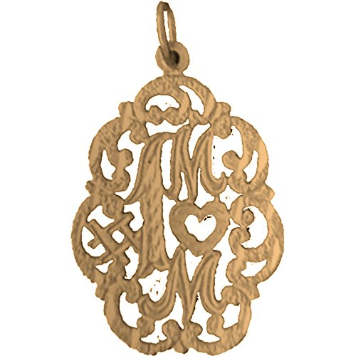 yellow-gold-plated-silver-29mm-1-mom-pendant-necklace