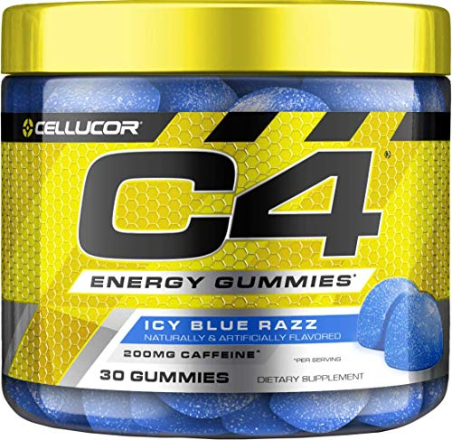 Cellucor C4 Gummies, Daily Pre Workout Energy Gummy Chews With 200mg Caffeine, Energy Booster With Beta Alanine & Fast…