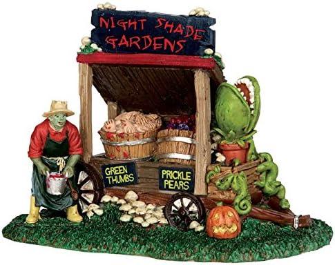 Lemax Spooky Town Night Shade Garden Cart # 53201