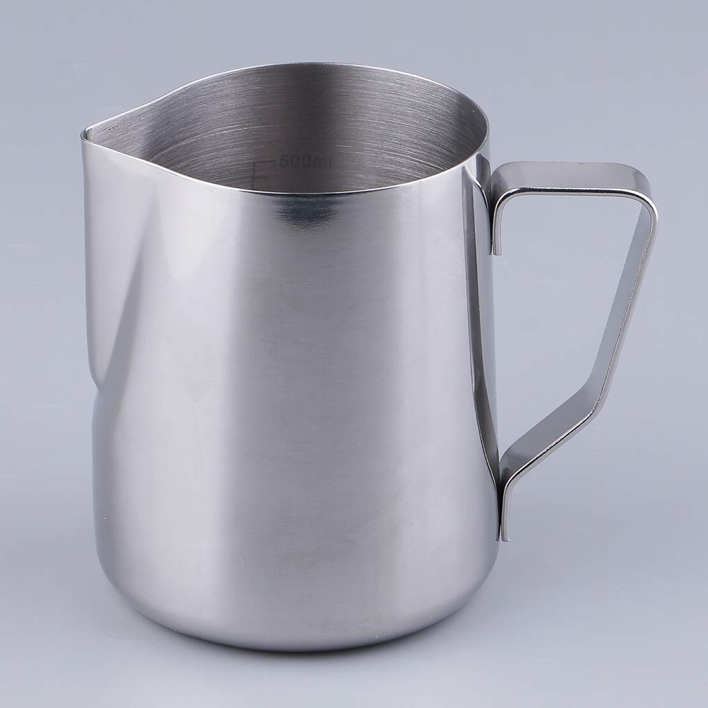 B Blesiya Stainless Steel Candle Making Pot Pitcher Double Boiler Pot for Melt Pour Wax /& Soap 500ml