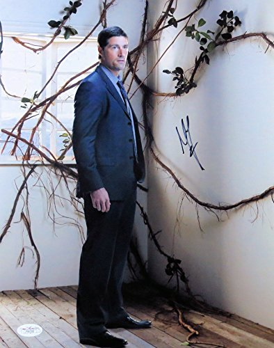 Matthew Fox Signed Autographed 11X14 Photo Los Sexy Standing Vines JSA - Matthew Fox Photo Signed