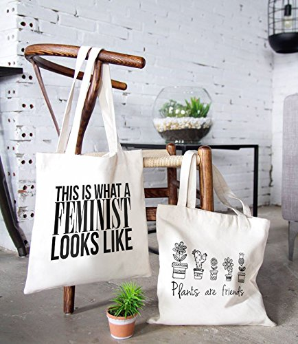 Canvas Tote Bag-Teengirl Quote Collection-01