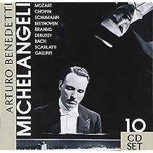 Arturo Benedetti Michelangeli plays Mozart, Chopin, Schumann, Beethoven, Brahms, Debussy, Bach, Scarlatti, Galuppi