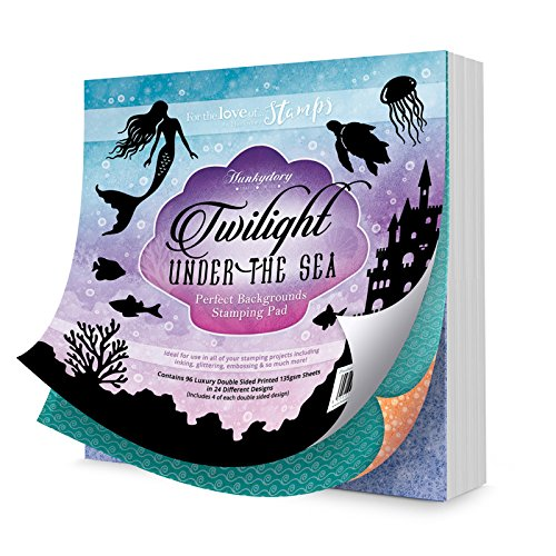 Hunkydory Crafts Perfect Background Stamping Pad Twilight under the Sea 4336865439