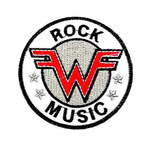 Aruno maison Weezer Rock Band Punk DIY Iron Sew On Embroidered Patch for Denim Jacket Vest Cap