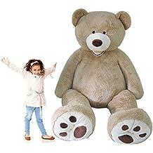 "Huge Jumbo HugFun 93"" Teddy Bear 8 Foot Stuffed Plush Animal Toy Gigantic Large"