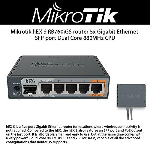 MikroTik hEX S by Mikrotik