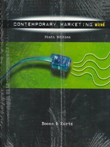 PKG:CONTEMP MARKETING,9E+DYMCCD-ROM (9th Ed. Includes Cd-Rom) (Dryden Press Series in Marketing)