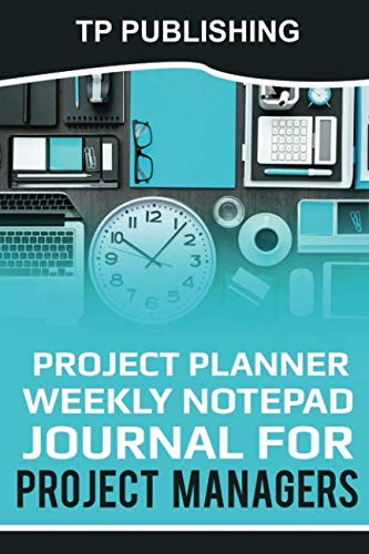 ly notepad journal for project managers: 6 x 9 size 200 pages ()