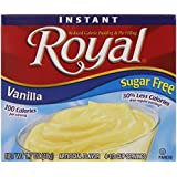 Royal Instant Pudding, Sugar Free, Vanilla, 1.7-Ounce (Pack of 12)