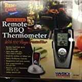 Maverick Remote Wireless BBQ Thermometer W/voice Alert + Food Magnet