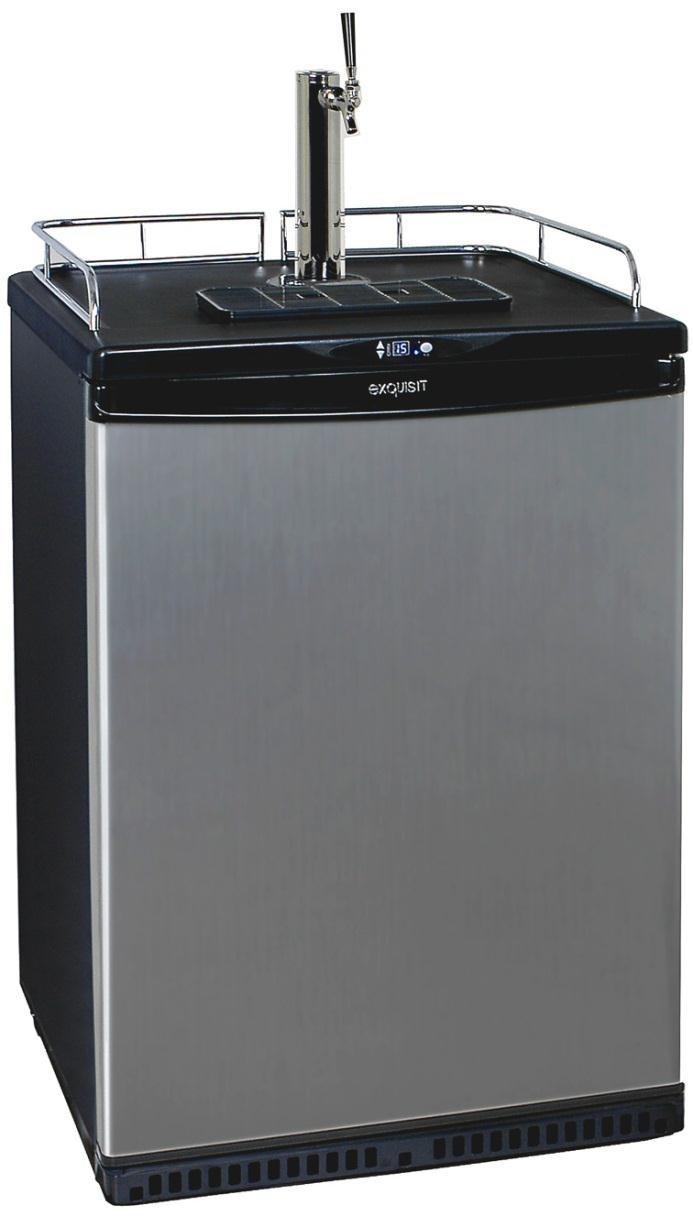 Exquisit BK160 Dispensador de cerveza de barril grifo de cerveza - Tirador de cerveza (43 kg): Amazon.es: Hogar