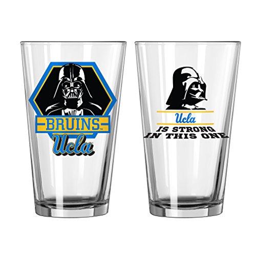 NCAA UCLA Bruins Star Wars Pint Glass, 16-ounce, 2-Pack