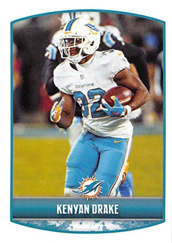 2018 Panini NFL Stickers Collection #37 Kenyan Drake Miami Dolphins Official Football Sticker