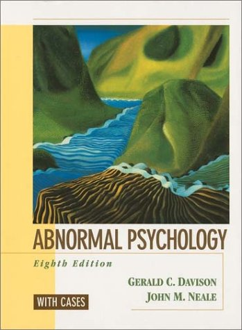 Abnormal Psychology: With Cases -