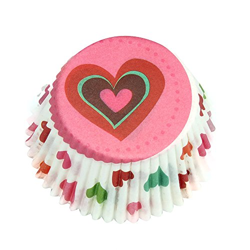 Adagod Cake Wrappers Liner Cake Muffin Case Moon Cake Box Paper Box Cup Cake Decorator -