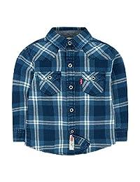 Levi's Baby Boy's Barstow Western Plaid Shirt