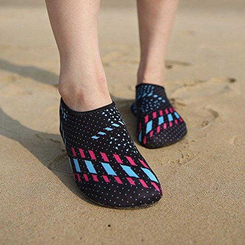 Adultos Suave Goma Camuflaje Snorkel Piel azul Y Playa Zapatos De Desnuda Calcetines Zapatos Zapatos Zapatos Zapatos JUNHONGZHANG Buceo Yoga Antideslizante Natación YPqx4wH5