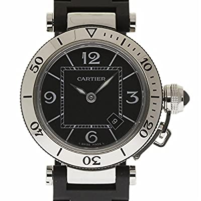 Cartier Pasha Swiss-Quartz Female Watch W3140003 (Certified Pre-Owned) by Cartier