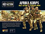 Bolt Action Afrika Korps German Grenadiers Western Desert Starter Army Pack 1:56 WWII Military Wargaming Plastic Model Kits