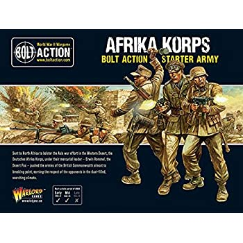 Amazon.com: Bolt Action Afrika Korps German Grenadiers ...