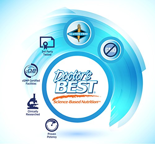 Doctor's Best Acetyl-L-Carnitine with Biosint Carnitines, Non-GMO, Vegan, Gluten Free, 500 mg 120 Veggie Caps by Doctor's Best (Image #4)