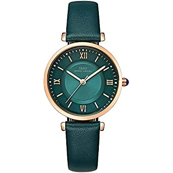 IBSO Ladies Watches Leather Band Round Case Fashion Women Watches on Sale relojes Mujer (6602