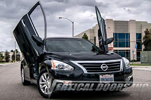 Vertical Doors - Vertical Lambo Door Conversion Kit for Nissan Altima 2013-2016 4DR (VDCNALT13) 4dr Vertical Lambo Doors