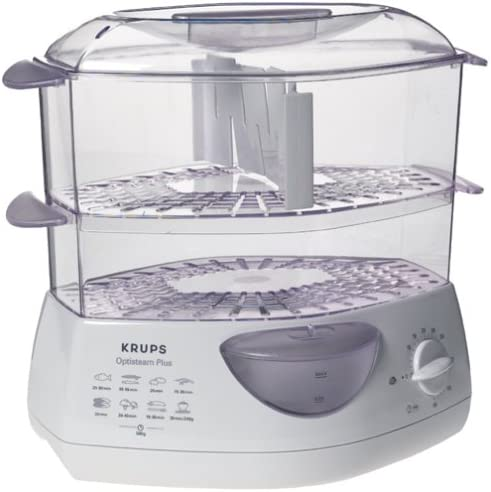 Krups 652-70 OptiSteam Plus 2-Tier Steamer, DISCONTINUED