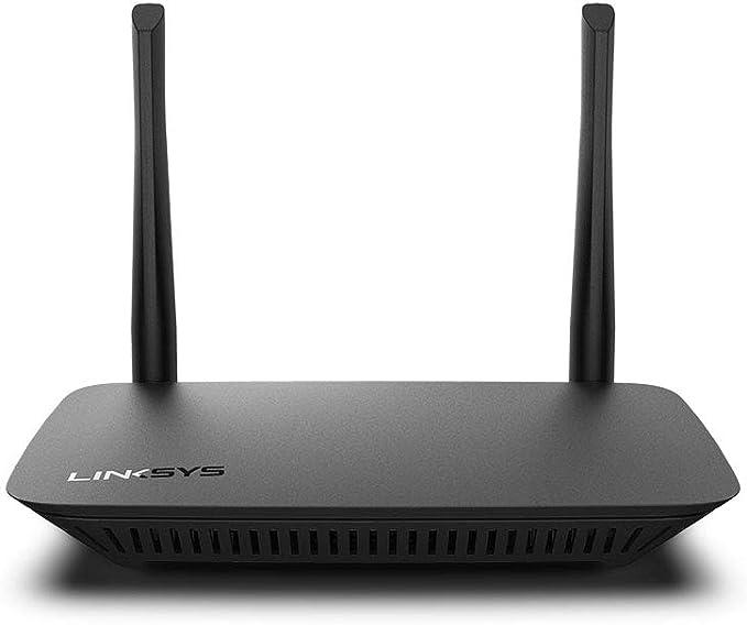 Linksys Router WiFi 5 de Doble Banda E5400 (Router Inalámbrico de Alta Velocidad, AC1200, 4 Puertos Ethernet)