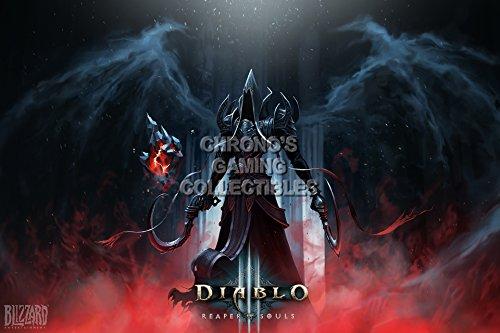 "Price comparison product image CGC Huge Poster - Diablo III Reaper of Souls PS3 PS4 XBOX 360 ONE - DIA019 (24"" x 36"" (61cm x 91.5cm))"