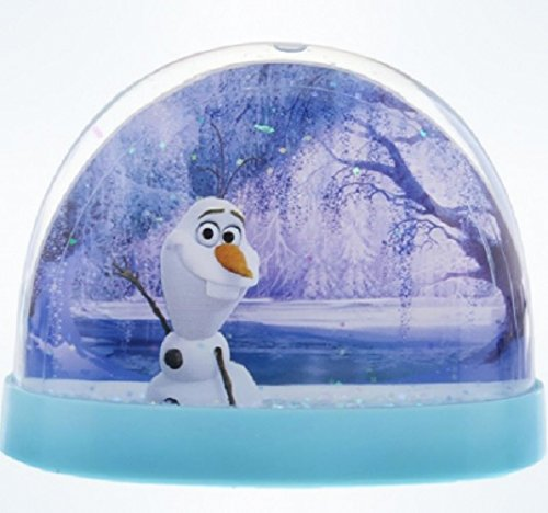 Disney Parks Frozen Plastic Snow Globe