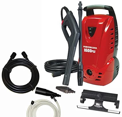 amazon com powerwasher pw1600 us 1 600 psi 1 5 gpm electric rh amazon com  hdpowerwasher 1600 manual