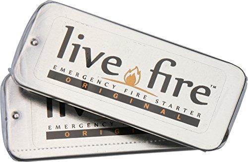 Live Fire Gear Twin Pack - Emergency Fire Starter